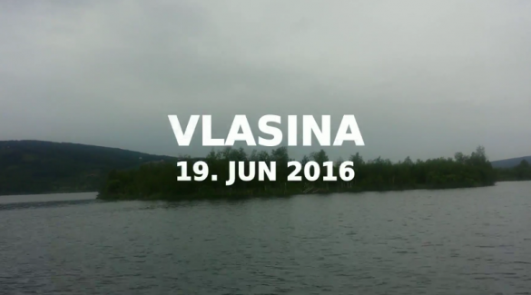 video, 2016, vlasina, jezero